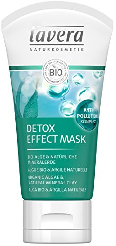 lavera Detox Effect Mask ∙ Bio-Alge & Natürliche Mineralerde ∙ Für ein strahlendes Hautbild...