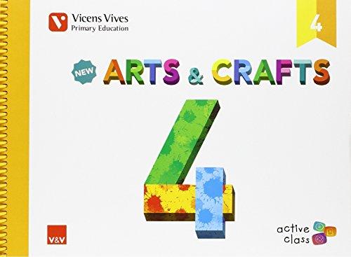 New Arts And Crafts 4 (active Class) - 9788468229157 por Isabel Ceballos Guerrero