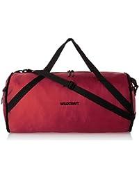 Wildcraft Nylon 46.99 centimeters Red Travell Duffle (8903338051015)