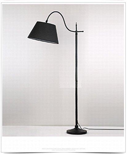 WEI Moderne minimalistische Wohnzimmer Stoff Stehleuchte Kreative Mode Schlafzimmer Nacht Studie Sofa Stehlampe,EIN,Einheitsgröße (Einer Ist Stehlampe Auf Deckenfluter)