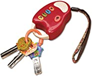 B. toys - FunKeys Toy - Funky Toy Keys for Toddlers and Babies - Toy Car Keys and Red remote with Light and So