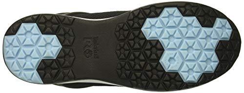 Timberland Pro Women s Drivetrain Composite Toe SD  Industrial Boot  Black Blue Mesh  9 5 M US