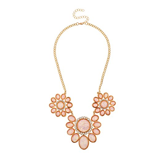 lux-accessories-peach-stone-floral-pave-statement-necklace