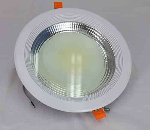 Downlight LED COB 5W-10W-15W-20W-30W Luz 6000ºK-4000K redondo empotrar blanco (6000K, 30W)