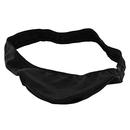 MagiDeal Uomini C-stringa Sacchetto Breve Perizoma Intimo String Tanga Bikini Slip Nero