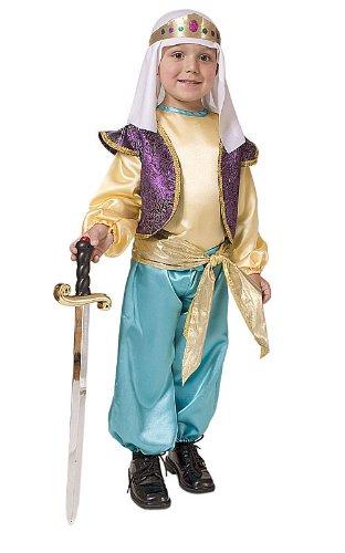 bisches Sultan-Jungen-Kostüm (Kostüme Arabe)