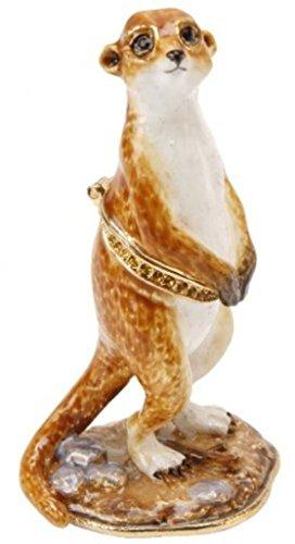 Image of Treasured Trinkets Meerkat Trinket Box