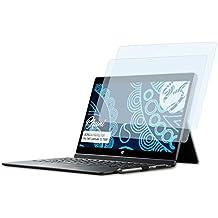 Bruni Schutzfolie kompatibel mit Dell Latitude 12 7000 Folie 2X glasklare Displayschutzfolie