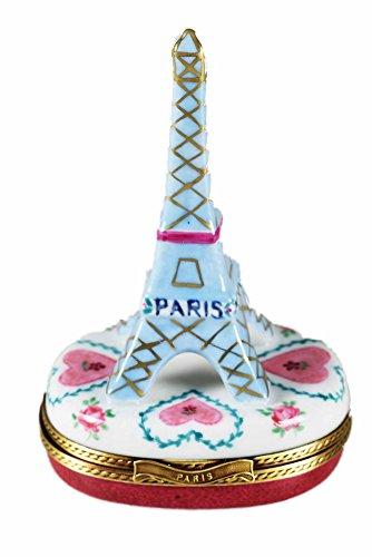Porcelaine de Limoges Boîte Tour Eiffel