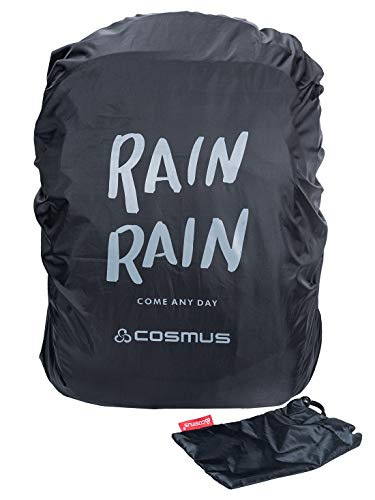 38bc0ef989c5 Cosmus Rain Rain Black Rain   Dust Cover with Pouch for Laptop Bags and  Backpacks