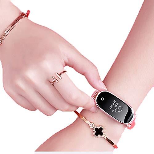 Smart Armband weiblich elektronisch Multifunktion schrittzähler weiblich Modelle wasserdicht Sport Uhr Bluetooth Paar Schritt herzfrequenz Schlaf-überwachung Damen Hand Bad
