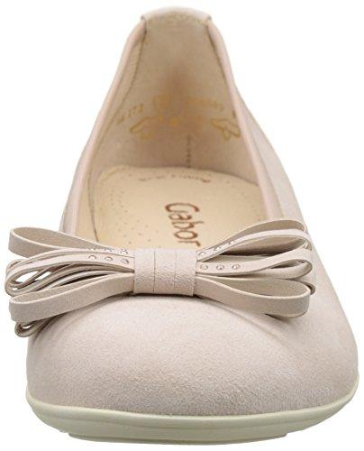 Gabor Damen Fashion Geschlossene Ballerinas Beige (skin 14)