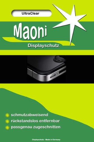 6x Maoni Ultra Clear Standard Display Schutzfolie passend für Acer beTouch E120 E120 Display