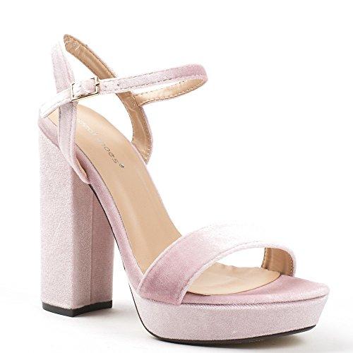 Ideal Shoes ,  Sandali donna Rose