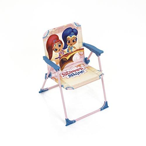 Arditex Silla Plegable para niños bajo Licencia Shimmer & Shine (Metal, Tela, 38x 32x 53cm