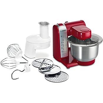 Amazon.de: Bosch MUM4 MUM4655EU Küchenmaschine (550 W, 3 ...
