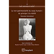 Le principe de non-patrimonialité du corps humain. Panorama international