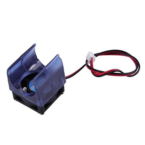 Sharplace Ventilatur de Radiateur V5 V6 de Moulage avec Coque Protecteur Couvercle de Ventilateur Pièce Rechange Accessoire de Imprimante 3D