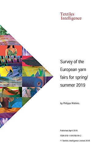 Premiere Kostüm - Survey of the European yarn fairs for spring/summer 2019
