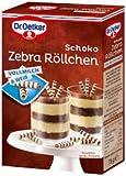 Oetker Schoko Zebra Röllchen 75g