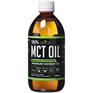 Natures Aid 100 Percent MCT Oil, Premium Coconut Oil, Sustainably Sourced, Add to Coffees or Shakes, Vegan, 500ml