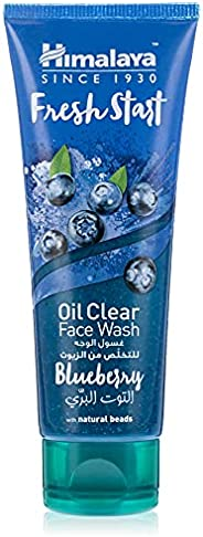 HimalayaOil Clear Face Wash-Blueberry - 100Ml