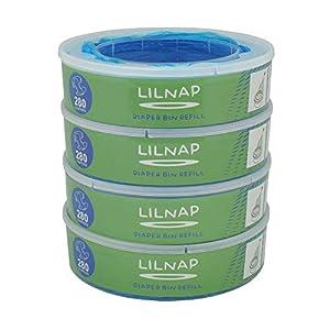 LILNAP – Nachfüllkassetten passend für Angelcare Windeleimer