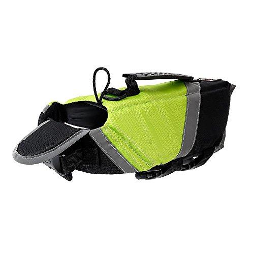 petneces tragbar Dog Life vest, tragbar Lifesaver Sicherheit Warnweste Pet Life Preserver Hund Wasser Warnwesten
