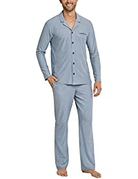 Schiesser Pyjama Lang, Pantalones de Pijama para Hombre