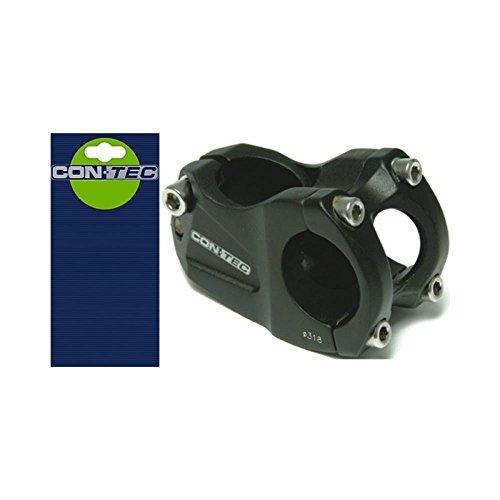 CONTEC Dirt XC TDS-D408-8(FOV) - Fijación para manillar (aluminio 6061, divisible, 28,6 x 40 x 31,8 mm, atornillada, inclinación de 30º, 200 g de peso), color negro