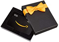 Idea Regalo - Buono Regalo Amazon.it - €50 (Cofanetto Amazon)