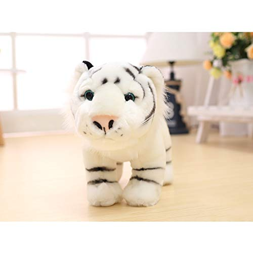 MMD Presente di Compleanno degli Ornamenti di Ragdoll dei Piccoli Animali della Piccola Tigre del Giocattolo Adorabile della Peluche (Colore : Bianca)