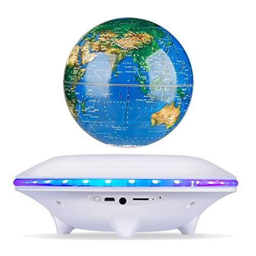 Altavoces Maglev Globo Inalámbrico Bluetooth Altavoces Globo De 360 ° Lámpara De...