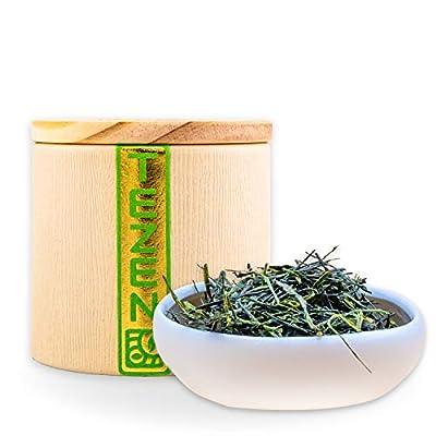 Sencha de la Lumière Thé vert Sencha du Japon | Thé Sencha du Japon haut de gamme | Sencha Premium idéal à offrir