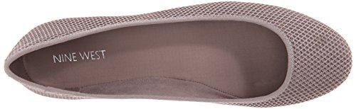 Nine West Adorabl Fabric Ballet Flat Grey/Grey