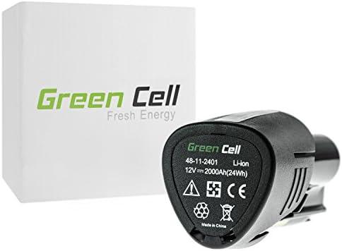 verde Cell® Utensili Elettrici Batteria per Milwaukee M12 M12 M12 PCG 400 (Li-Ion celle 2 Ah 12V) | promozione  | Facile da usare  | Varietà Grande  8ba51d