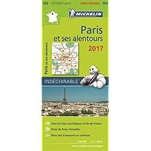 Carte Paris et Ses Alentours Michelin 2017
