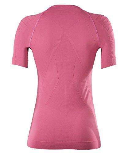 FALKE Damen Warm Shortsleeved Shirt Tight Fit Sportunterwäsche azalea