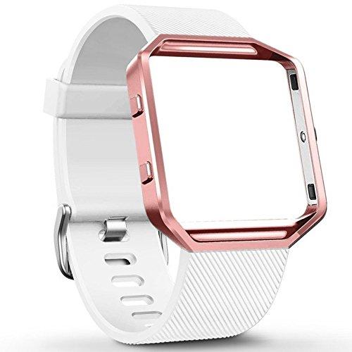 huishang-fitbit-blaze-zubehr-classic-band-soft-silikon-ersatz-sport-strap-mit-metallrahmen-schutz-fr