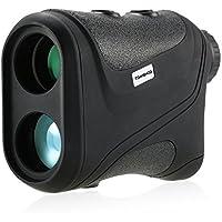 TOMSHOO 600M/1000M Golf Entfernungsmesser Laser IP54, Aufladbare 7x24mm/6*22mm Golf Rangefinder für Entfernung und Geschwindigkeit, Neue Version auch für Winkel und Höhe Messung