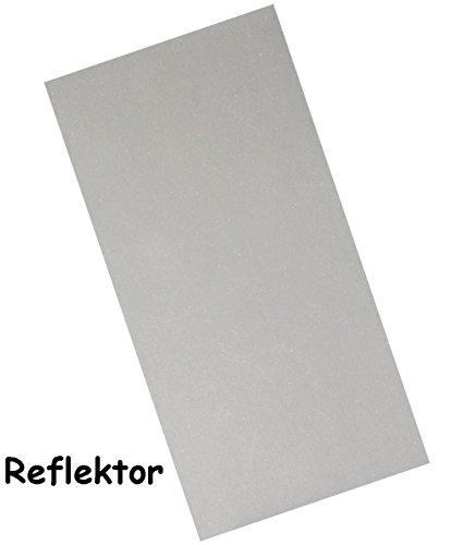 """3 Stück - Bügelbilder - """" Reflektierend / Reflektor """" - zum Aufbügeln - Aufkleber & Reparatur Flicken - Nylon - wasserabweisend - ideal für Ski & Winter Bekleidung - für Bekleidung Regenartikel / Leder Sofa - Regenbekleidung - Rucksack / Kleidung - Leuchtaufkleber - Reparaturflicken Camping - Applikation"""