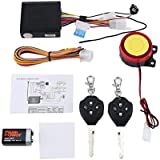 125dB Motorcycle Anti-Theft Security Alarm System Double Remote Control
