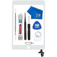 MMOBIEL Digitizer kompatibel mit iPad Mini 1/2 (Weiss) 7.9 Inch 2012/13 Touchscreen Front Display inkl IC Chip und Werkzeug