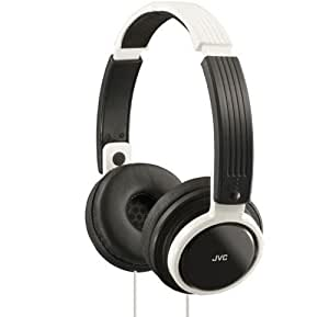 JVC Riptide Portable Headband Headphones - White