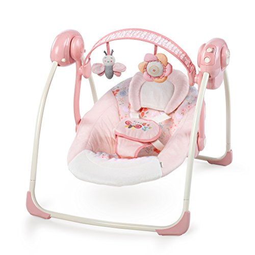 Ingenuity 60675 Soothe and Delight Portable Swing - Felicity Floral