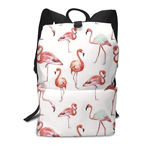 Rosa Flamingo-Rucksack-Mitte für Kinderjugendliche-Schulreisetasche -