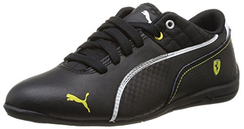 Puma Unisex Drift Cat 6 L SF Jr Black Leather Clogs and Mules - 4C UK  available at amazon for Rs.2488