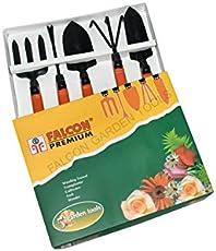 Falcon FGTB-95/5 Steel Garden Tool Set (Multicolour, 5-Pieces)