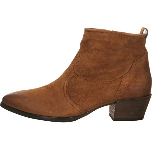 Paul Green Damen Twice Stiefelette Cowboy Stiefel Größe 41.5 EU Braun (braun)