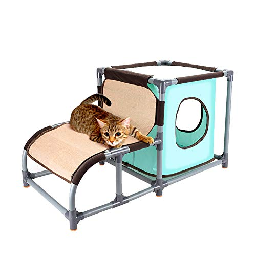al Grab Pad Canvas Cat Litter Cat Jumping Table Wash Cat Climbing Pet Supplies Cat Tree Cat Litter ()
